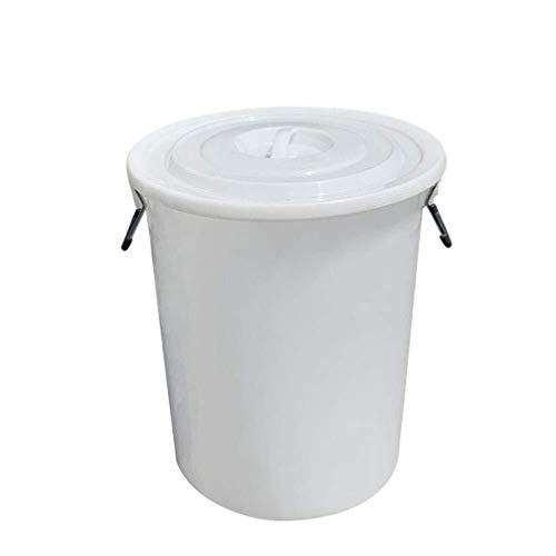 Bbhhyy Wasserbehälter Übergroße Eimer Wasserspeicher Haushalt Mit Deckel Tragbaren Medium Kübel Deckel Vat-Speicher-Beutel-Behälter-Wasser (Size : 50L)