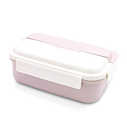 Boîte À Lunch Boîte À Bento en Acier Inoxydable Conteneur Thermique pour Aliments Contenants À Lunch Portables pour Étudiants De Pique-Nique Employés De Bureau Baignoire À Déjeuner