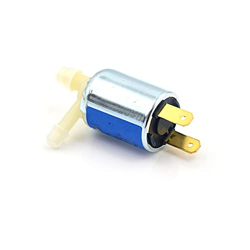 QUJJP La válvula electromagnética 1 unids DC24V 12V 3V válvula solenoide mini micro eléctrica de gas de agua desalentada válvula normalmente cerrada (voltaje: 12V)