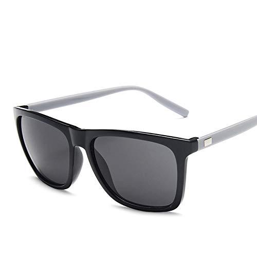 Gafas de Sol Sunglasses Gafas De Sol Cuadradas De Moda para Hombre, Diseño De Pesca, Conducción,Gafas De Sol para Hombre, Protección Uv400, Tonos C9Anti-UV