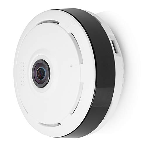Smartwares Panorama WiFi bewakingscamera met 720P HD 360° IP-camera. wit
