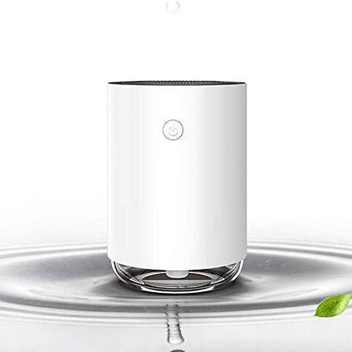 Difusor Mini, Mini atomización humidificador, USB Inicio de Escritorio portátil Coche purificador de Aire, Hogar Máquina aromaterapia, USB Alimentado por,White