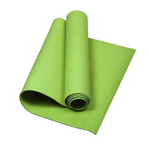 Yoga mat LKU 6 mm EVA yogamat antislip schuimmat fitness Pilates gym sport fitness mat, groen
