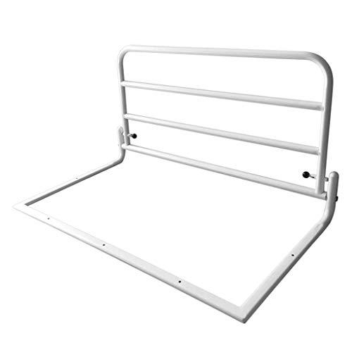 DFBGL Protezione Laterale di sicurezza Della Vernice del Tubo d'acciaio Della Guida del letto per anziani pieghevole per la maggior Parte dei Letti domestici (dimensioni: 80x45 cm)