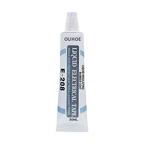 Hangarone Cinta adhesiva líquida aislante de goma líquida eléctrica y cinta selladora...