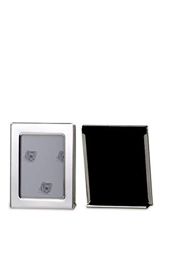 Paßbild-Fotorahmen Rechteckig Außen-D 5,5 x 7,0cm versilbert Anlaufgeschützt