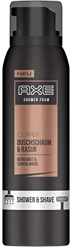Axe Duschschaum & Rasur Copper Bergamot & Sandalwood, 3er Pack (3 x 200ml)