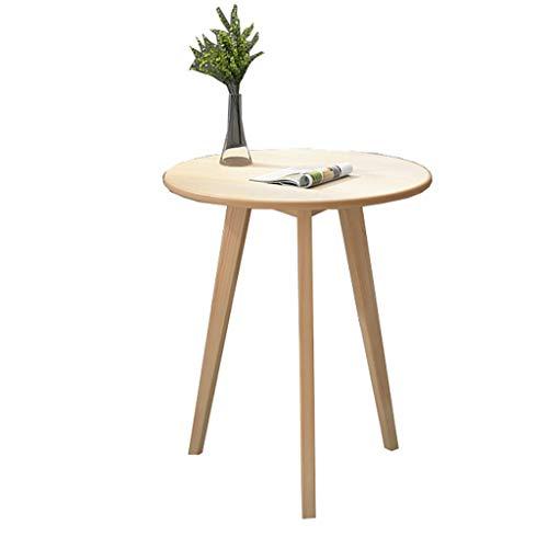 Couchtisch, nordischer runder Tisch, Sofa-Side Table/Bay Fenstertisch, Verhandlungstabelle, für Wohnzimmer, Balkon, Schlafzimmer (Size : 40×40x45cm)