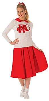 Rubie s Women s Grease Rydell High Cheerleader Adult Sized Costumes As Shown Standard US
