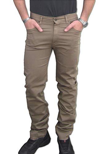 CAMICIE & dintorni Pantalón Holiday Jeans (peso medio/entretiempo) hombre algodón talla 46 48 50 52 54 56 58 60 Made in Italy elastizado Comfort