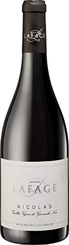 Nicolas Grenache Noir Vieilles Vignes 2017 - Domaine Lafage | trockener Rotwein | französischer Wein aus Languedoc-Roussillon | 1 x 0,75 Liter