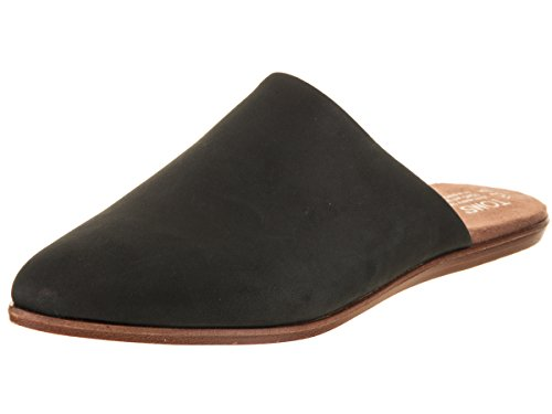 TOMS - Jutti Mule en Cuir Femme, 37 EUR, Black Leather
