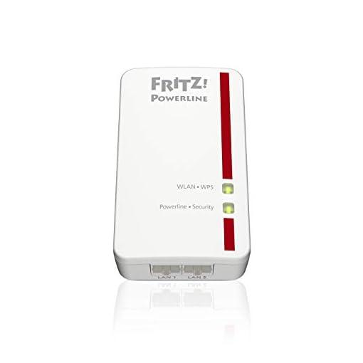 AVM FRITZ!Powerline 540E WLAN Set International - Adaptador/extensor de red por línea eléctrica, PLC, HomePlug AV2, IEEE… 5