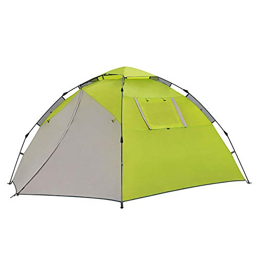 DOLA Campingzelt, Quick Up System, Outdoor Pop Up Familienzelt Wurfzelt,Grün