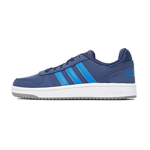 Adidas Hoops 2.0 K, Zapatillas de Baloncesto Unisex niño, Multicolor (Azuosc/Azul/Gritre 000), 28.5 EU