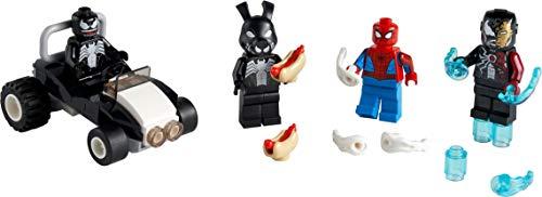 LEGO Marvel 40454 Spider-Man Versus Veneno y Veneno de Hierro