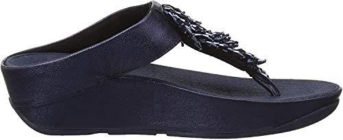 Fitflop Damen Rumba Toe-Thong Zehentrenner, Blau (Midnight Navy 399), 38 EU