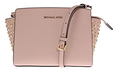 Michael Michael Kors Selma Studio Leather Crossbody