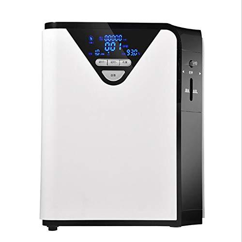 QZAA-Generador Oxígeno Portátil Máquina de Oxígeno Hogar Ancianos Pequeños Mujeres Embarazadas Atomizador de Coche Familiar para La Estación del Hogar Purificación de Aire del Coche
