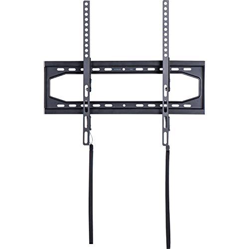 AmazonBasics - Soporte de pared inclinable y ajustable con carril, para televisión, de 81,3 a 177,8 cm (32-70