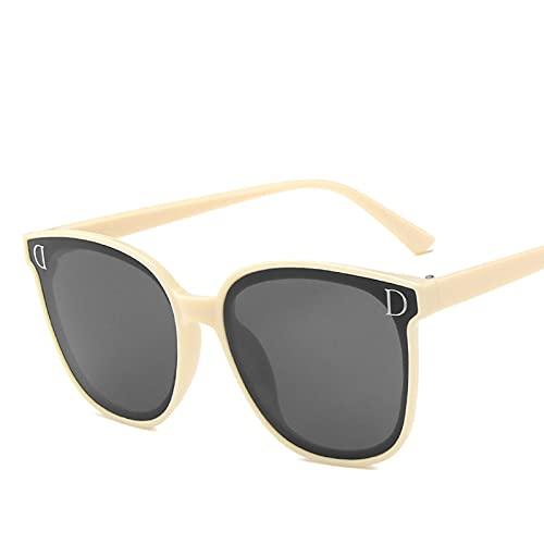 mjuwzghy Nuevo Clip magnético de Moda en Gafas de Sol polarizadas para Mujer, Gafas Transparentes Anti luz Azul, Montura para Mujer
