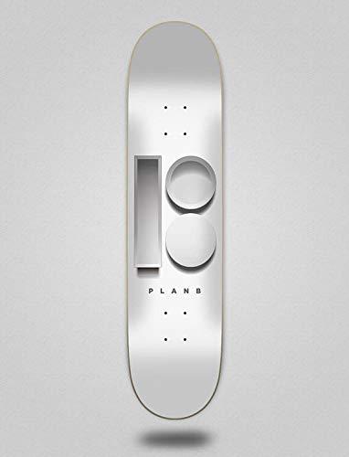 "lordofbrands Monopatín Skate Skateboard Deck Plan B Team 3D 8.0\""X31.75\"""