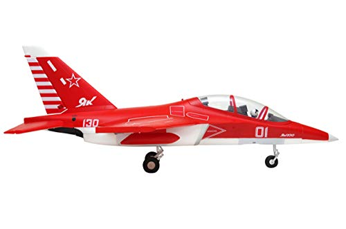 FMS 70mm Ducted Fan EDF Yak-130 V2 Red Super Scale RC Airplane Jet 6S PNP (no Radio, Battery, Charger)
