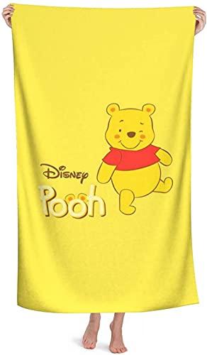 Toalla de playa infantil con dibujo de Winnie The Pooh de microfibra, toalla de playa, Tigger Eeyore Piglet, toalla de baño de secado rápido (Winnie2, 140 x 70 cm)