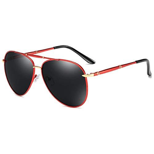 Astemdhj Gafas de Sol Sunglasses Gafas De Sol Clásicas De Piloto para Hombre, Gafas De Sol Polarizadas A La Moda con Espejo, Gafas De Sol para Conducir con Revestimiento Azul, SomAnti-UV