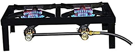 Basecamp F235830 2 Burner Angle Iron Stove, Multi