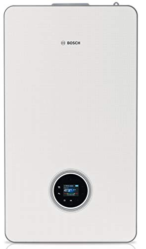 Caldera de pared de gas de condensación con ECS Condens 8700i W 30-35 kW blanco clase energética A/A Ref 7738100761