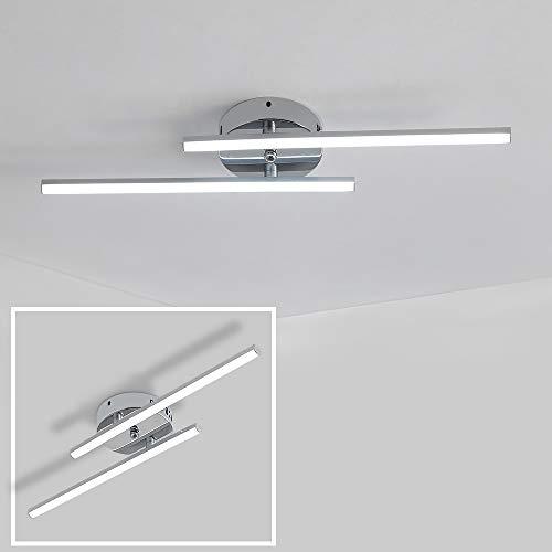 Plafoniera LED,14W Lampadario Plafoniera, LED Lampade,Soffitto Moderna per Soggiorno Camera da Letto Scala,6500K (Bianco Freddo)