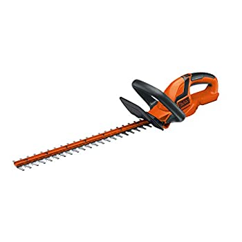 BLACK+DECKER 20V MAX Cordless Hedge Trimmer 22-Inch Tool Only  LHT2220B