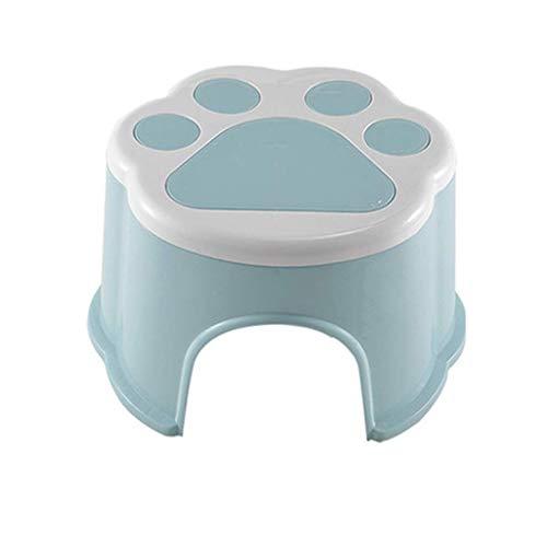 NIHAOA Badezimmer Sitz Kinder aus Kunststoff Hocker, Wohnzimmer Sitzbank, Trittschemel, Kreativ Bad Toilette WC-Hilfe-Kunststoff Hocker (Size : -)