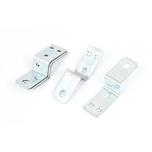Sourcingmap® Möbel Regal 70x 20Z Form Corner Brace Teller Winkelkonsole, 5x de