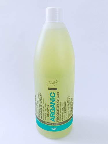 Spa Master Profesional Champú Reparador con Aceite de Argán 970 ml