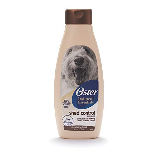 Oster Oatmeal Essentials Dog Shampoo for Shedding