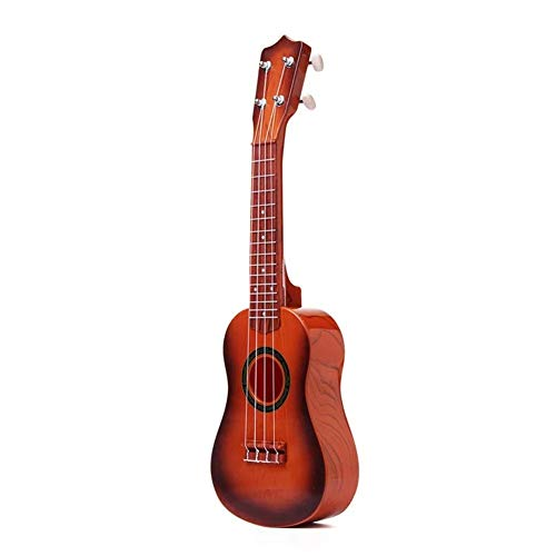 Akustisch 21-Zoll-Gitarre 4 Strings Buntes Spielzeug Ukulele Chinese Style for Kind-Geschenk