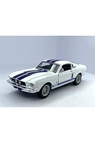 KT5372D - 1967 Ford Shelby Mustang GT-500 (White)