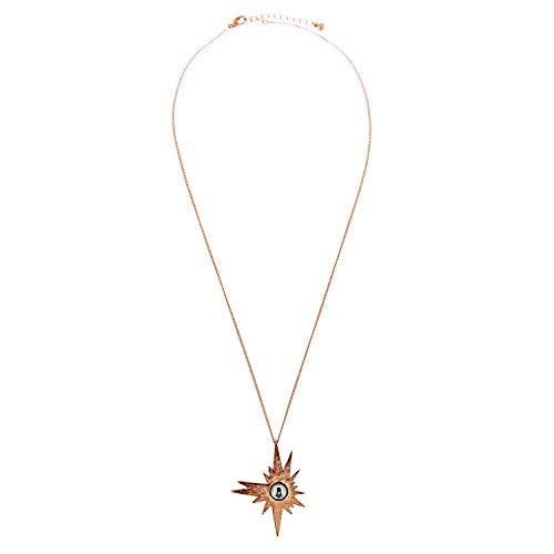 Sweet Deluxe Lilli Star Necklace Rose Gold I Elegant Necklace for Women, Women and Girls I Collar Fashion Jewellery I Designer Necklace