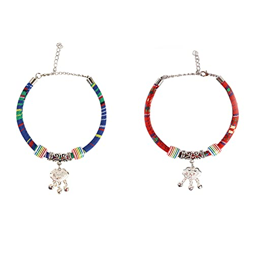 LCYY Collar para Mascotas con Campanas, Campanas Decorativas, el Sonido es pequeño y no molestará a Las Personas (8,6-11,3 Pulgadas)