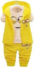 مجموعة ملابس للاطفال اصفر مينيونز -للجنسين