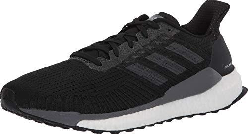 adidas Herren Solarboost 19 Straßenlaufschuhe, Schwarz (Core Black/Carbon/Grey), 42 2/3 EU