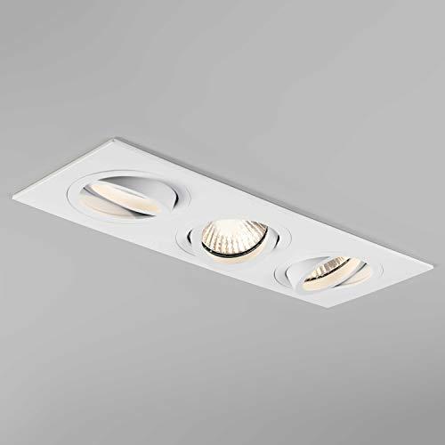 Astro Lighting Taro Triple spot encastré ajustable Blanc