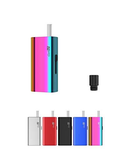 電子タバコ 加熱式たばこ ヴェポライザー Airistech Gethi G6 葉タバコ シャグ Vaporizer ドライハーブタバコ エアリステック オマケ付き (レインボー)