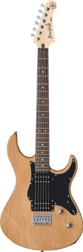 Yamaha Pacifica PAC120H YNS Solid-Body Electric Guitar, Yellow Natural