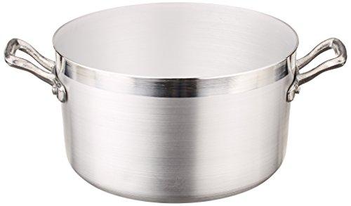 Pentole Agnelli FAMA418 Casseruola Alta con 2 Maniglie, Alluminio, 18 cm