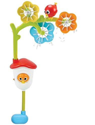 Yookidoo Baby Bath Mobile - Spinning Flowers and Swiveling Fountain for Newborn...