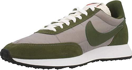 Nike Air Tailwind 79, Running Shoe Hombre, Piedra Pómez/Blanco/Negro/Verde Legión, 44 EU