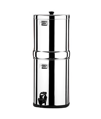 Butterfly 22L Stainless Steel Water Filter (Silver)